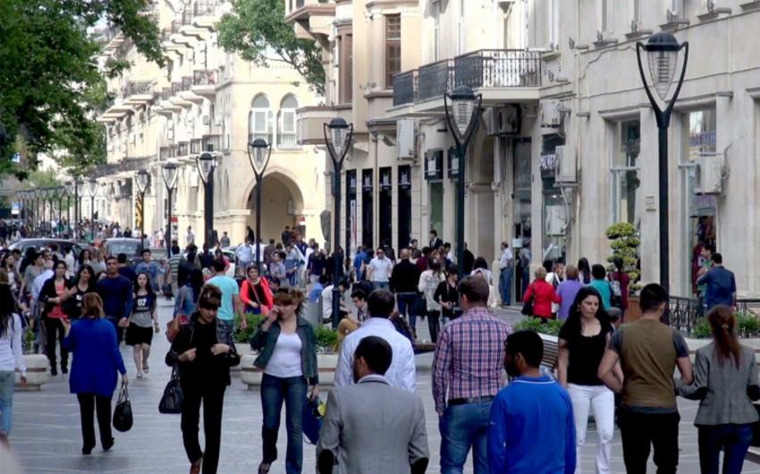 İMF: Azərbaycan əhalisi 2024-cü ilədək hər il 1 %-dən çox artacaq