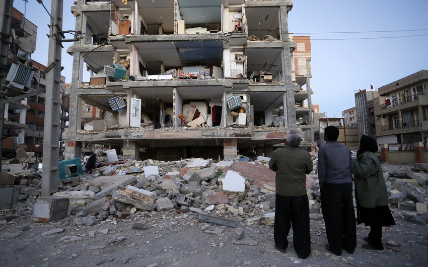 Ущерб от землетрясения в Иране оценен в 5 миллиардов евро