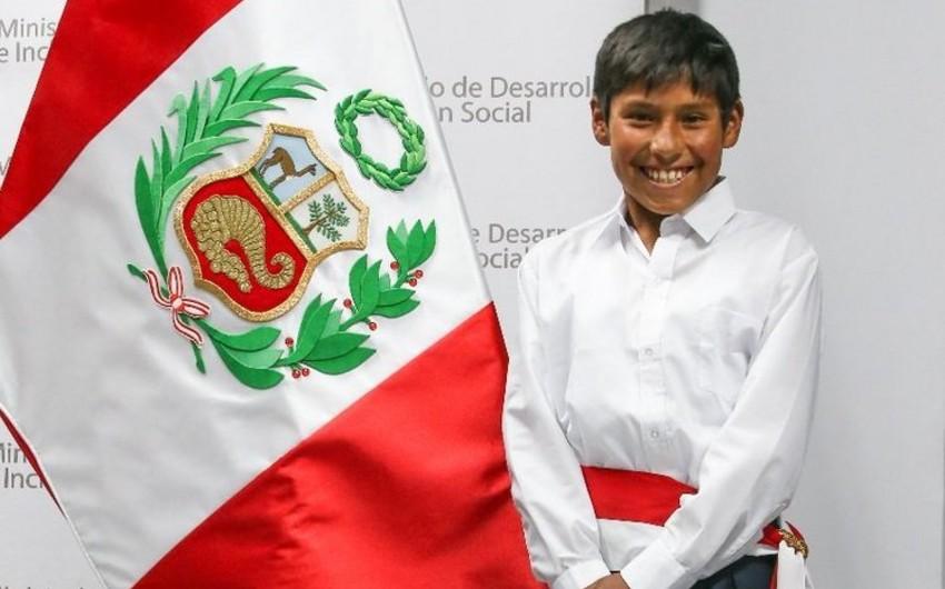 Peruda 12 yaşlı yeniyetmə birgünlük nazir təyin edilib