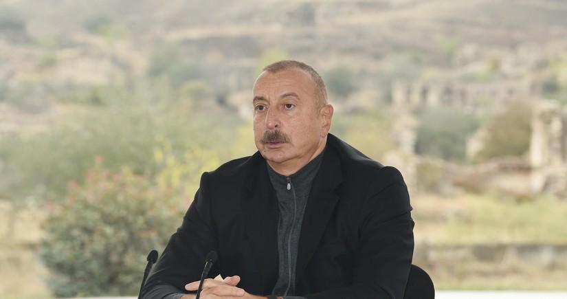 President Ilham Aliyev: General plans of Zangilan, Gubadli, Kalbajar and Lachin are being prepared