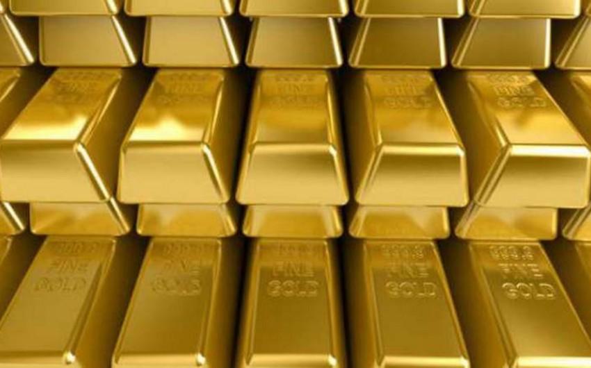 Dünya bazarında qızıl ucuzlaşıb