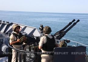 Hərbi Dəniz Qüvvələrinin taktiki təlimlərində döyüş tapşırıqları icra olunur