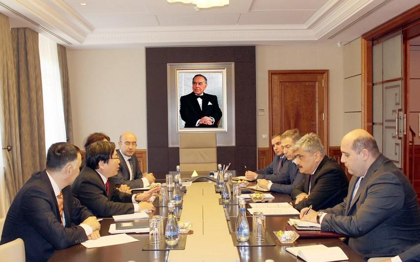 Samir Şərifov Asiya İnkişaf Bankının vitse-prezidenti ilə görüşüb