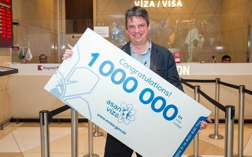 """""""ASAN Viza"""" vasitəsilə 1 milyonuncu viza verilib"""