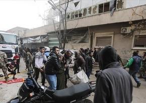 Suriyada terror aktları törədilib, ölənlər və yaralananlar var