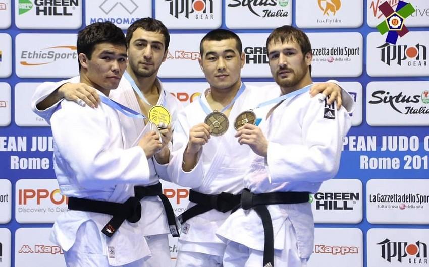 Cüdoçumuz Oruc Vəlizadə Romada qızıl medal qazanıb