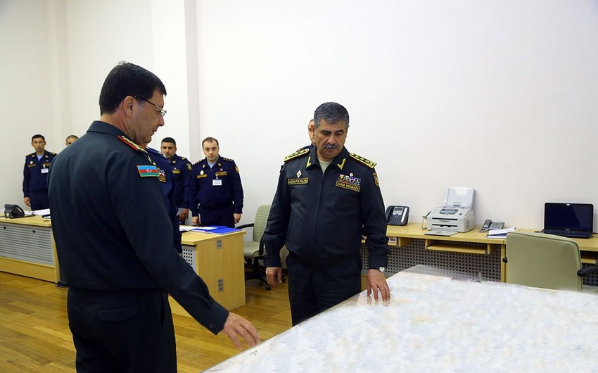 Azerbaijan Defense Minister heard reports on the start of operational exercises - VIDEO