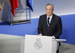 Florentino Peres yenidən Real Madridin prezidenti oldu