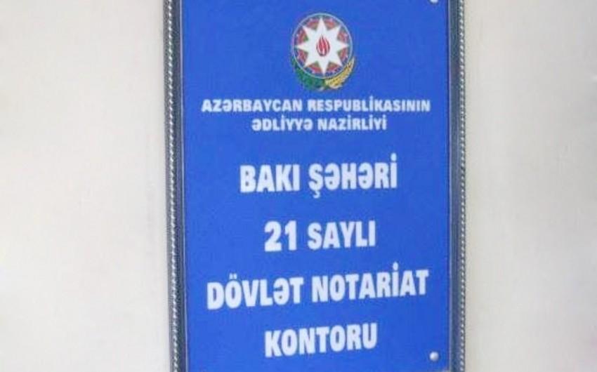 Hökumət notariuslara bəzi istiqamətlər üzrə operativlik öhdəliyi qoyub