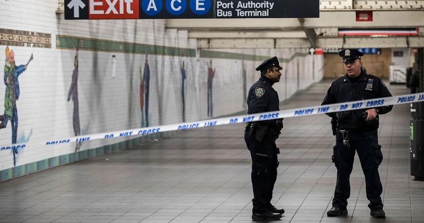 Нападения в метро Нью-Йорка, есть пострадавшие