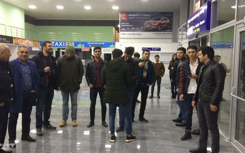 Карабах прибыл в город Полтава, в котором проведет матч с Ворскла - ФОТО
