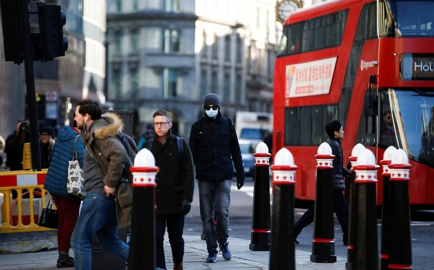 Londonda koronavirusa yoluxanların sayı 60 dəfə çoxdur - İDDİA