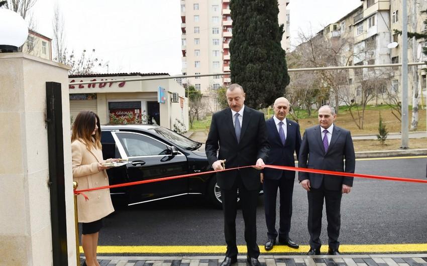 Azərbaycan Prezidenti Bakı Şəhər Statistika İdarəsinin yeni inzibati binasının açılışında iştirak edib - YENİLƏNİB