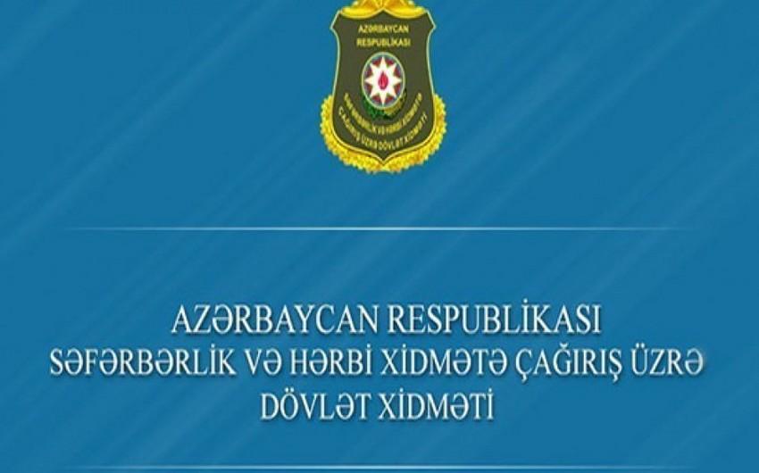 Dövlət Xidməti: Oktyabr çağırışına hazırlıq işləri yekunlaşır