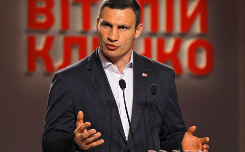 Vitali Kliçko: Biz Azərbaycanla daha fəal əməkdaşlıqda maraqlıyıq
