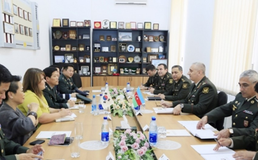 В Азербайджане учрежден Аппарат военного атташе Республики Корея