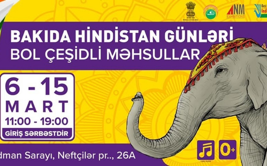 Indian products to be exhibited in Baku