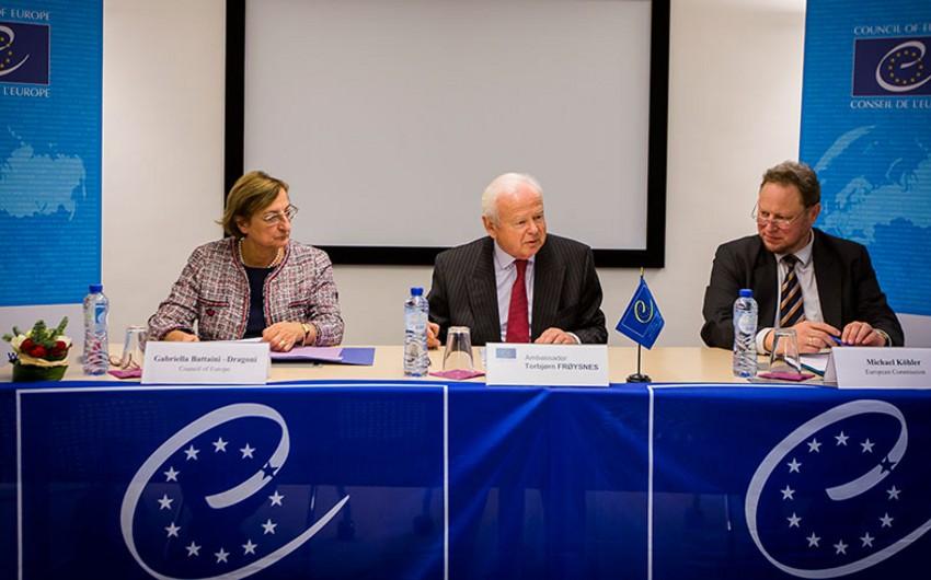 Aİ və Avropa Şurası Şərq Tərəfdaşlığı ölkələrinə yardım haqqında saziş imzalayıb