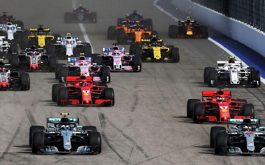 Formula 1: Rusiya Qran-prisi azarkeşlərin iştirakı ilə keçiriləcək