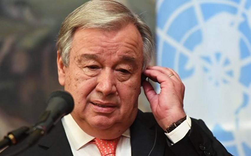 Антониу Гутерреш не планирует встречаться с Гуаидо на Генассамблее ООН