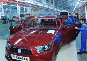 Azərbaycan avtomobil istehsalını 4 % artırıb