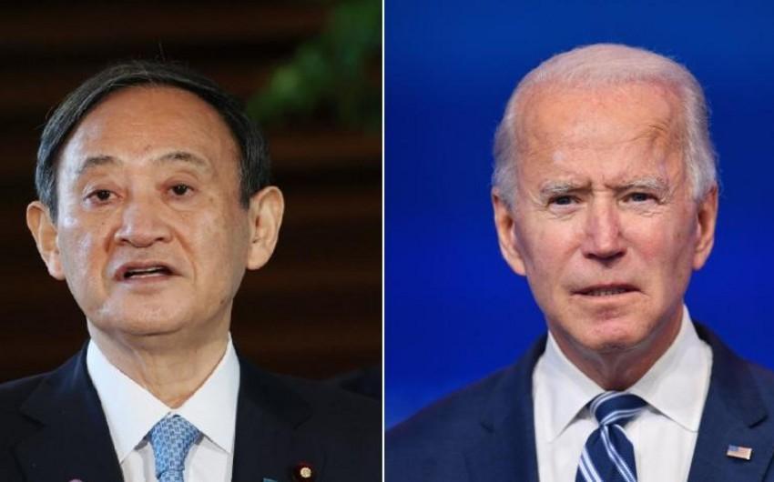 Встреча Байдена с премьером Японии может состояться в апреле