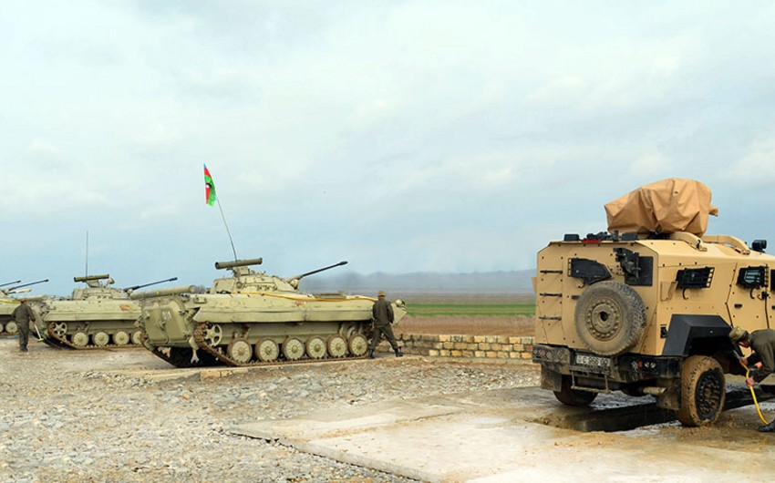 Military personnel and military equipment of Azerbaijan involved in exercises return to places of permanent deployment - VIDEO