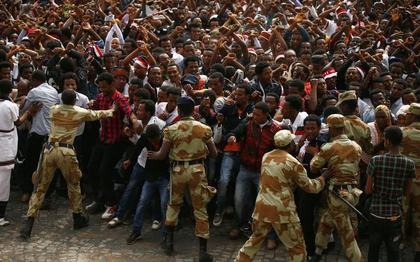 Efiopiyada toqquşmaların gedişatında 86 nəfər həlak olub