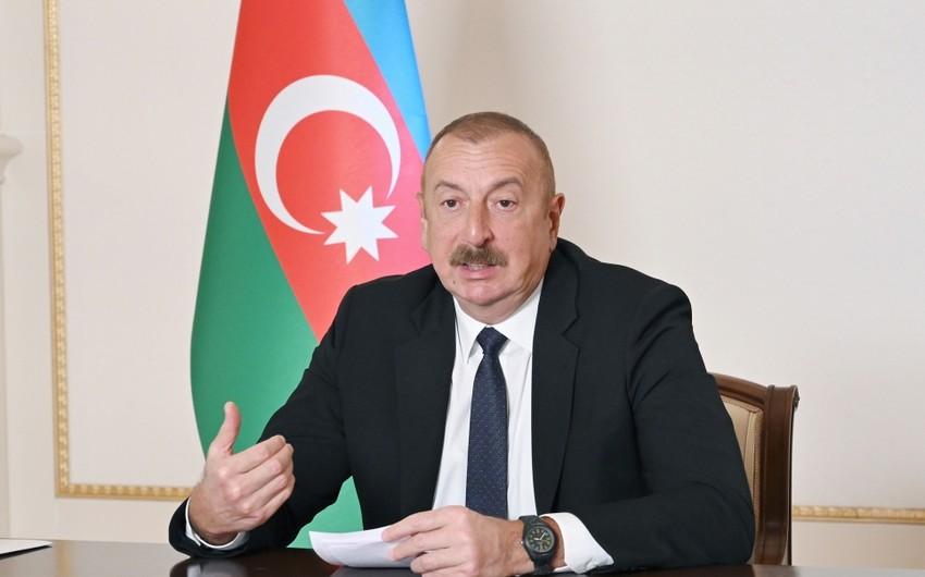 Azərbaycan Prezidenti: Zəngəzuru Azərbaycandan alıb Ermənistana birləşdirmək türk dünyasının coğrafi parçalanması idi