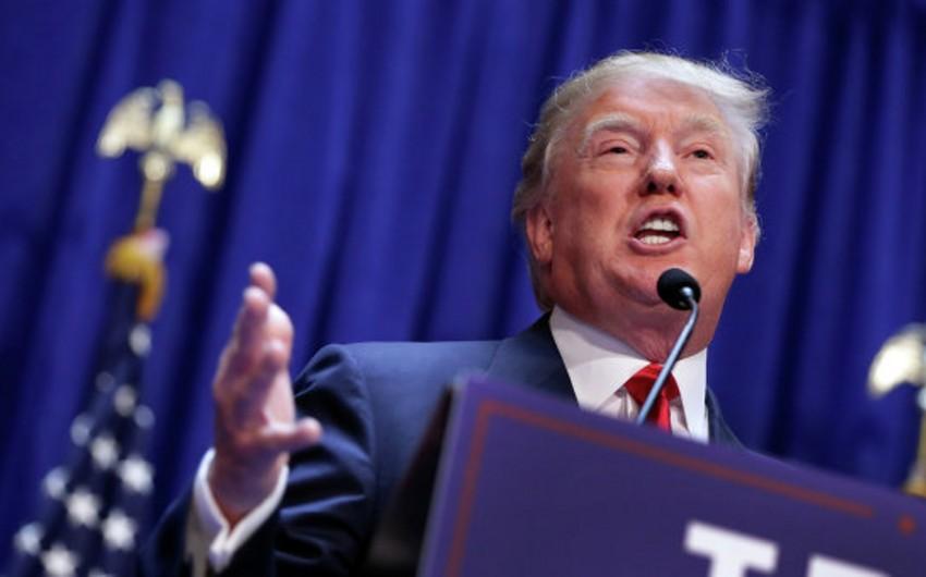 Donald Tramp Vaşinqtonda keçirilən ilkin seçkilərdə qalib gəlib