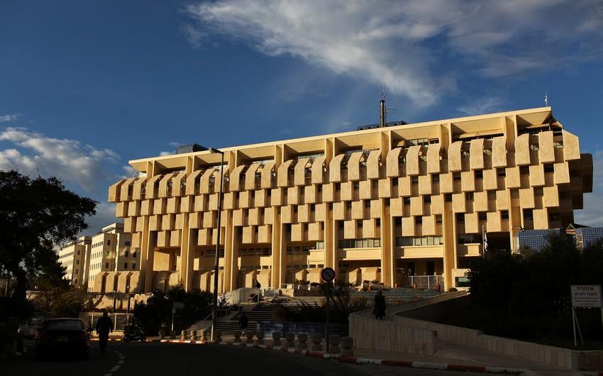 İsrail Mərkəzi Bankının valyuta ehtiyatları tarixi maksimumunu yeniləyib