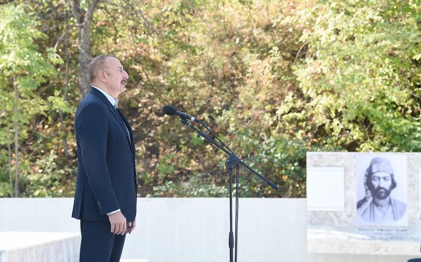 Prezident: Vaqif Poeziya Günləri keçirilərkən atamın 59 yaşı var idi. Bu gün mənim 59 yaşım var