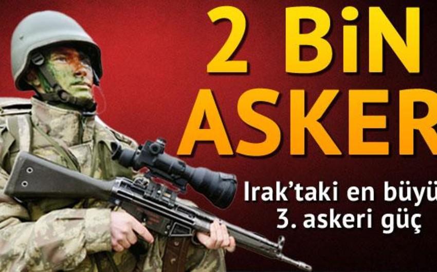 Şimali İraqda türk hərbçilərin sayı 2 minə çatacacaq