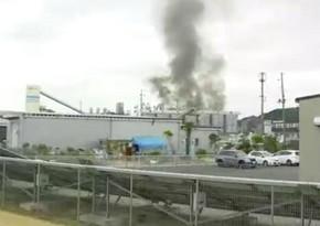 В Японии произошел взрыв на химическом заводе