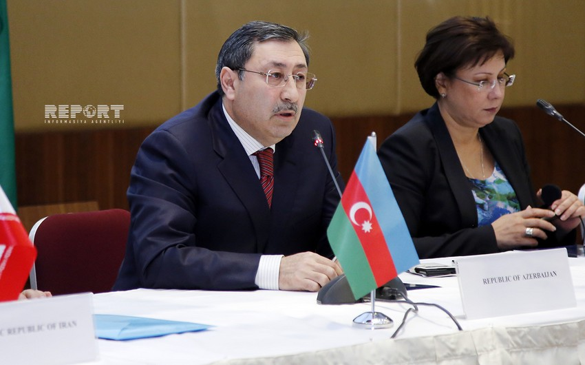 Xələf Xələfov Kanada-Azərbaycan Parlamentlərarası Dostluq Qrupunun sədri ilə görüşüb