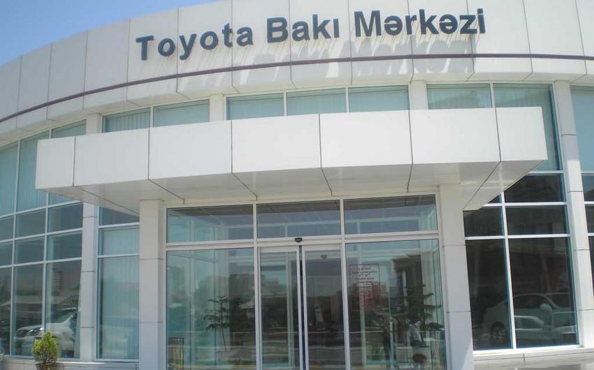 """Sığorta şirkəti """"Toyota Bakı Mərkəzi""""ni məhkəməyə verib"""