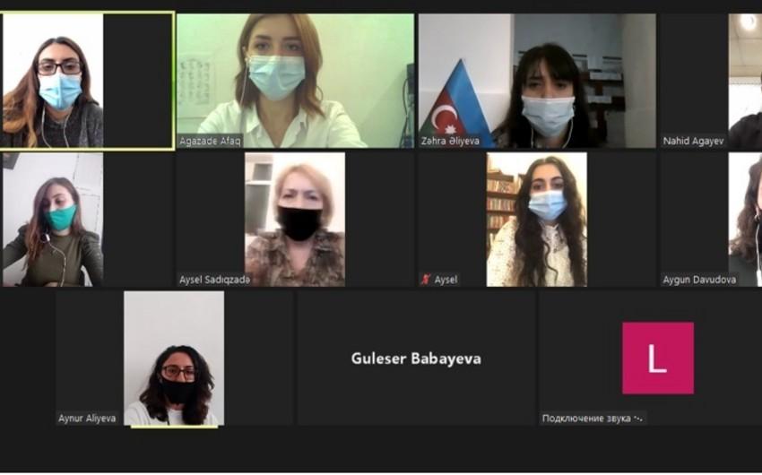 Gənc seysmoloqlar Ali Baş Komandanın əmrinə hazır olduqlarını bildiriblər