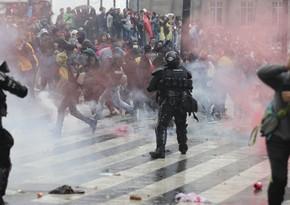 Kolumbiyada etirazlar zamanı 431 nəfər saxlanılıb