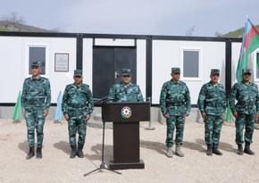 На границе с Арменией начала действовать очередная воинская часть