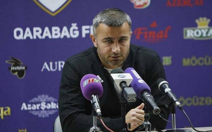 Qurban Qurbanov: Futbolçularımız çempion olmağa istəklidirlər