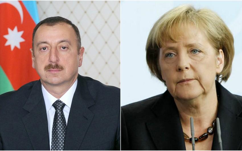 Prezident İlham Əliyev Angela Merkelə başsağlığı məktubu göndərib