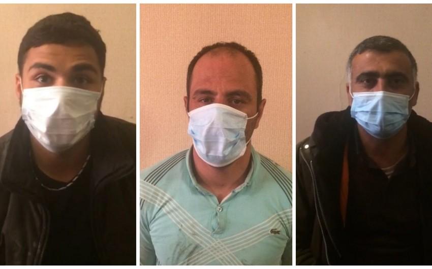 Задержаны пытавшиеся проникнуть на освобожденные территории