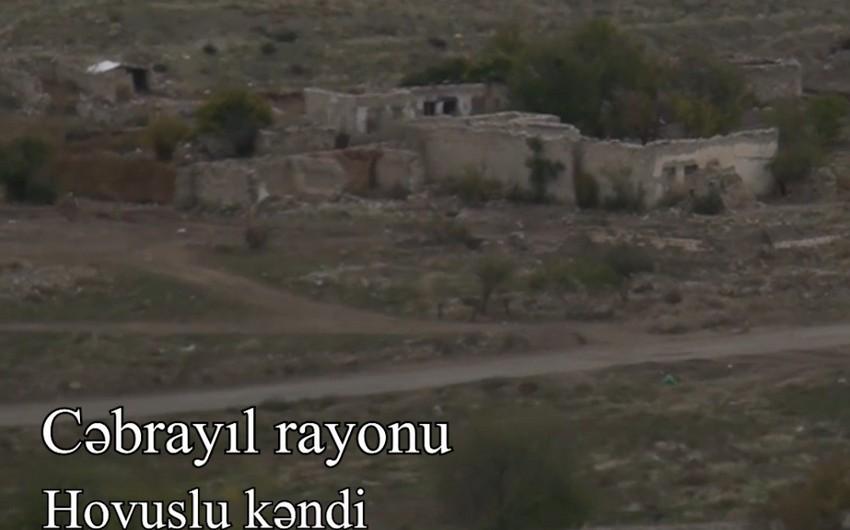 Qubadlı və Cəbrayıl rayonunun kəndlərindən görüntülər
