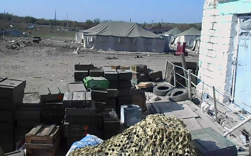Enemy's military unit seized