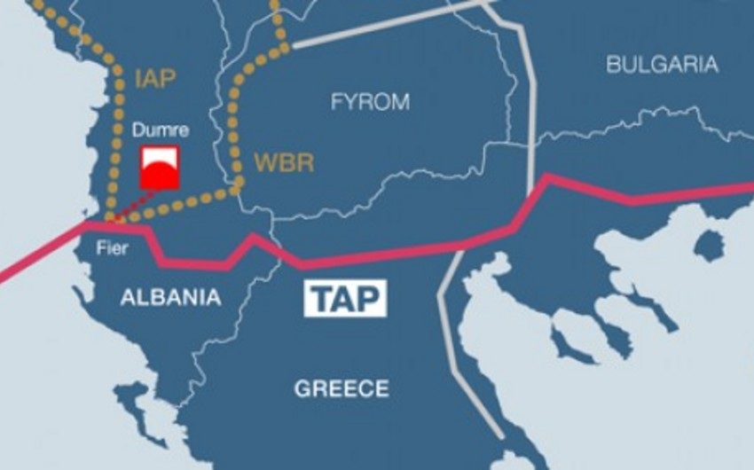 Yunanıstan TAP-ın marşrutunu təsdiqləyib