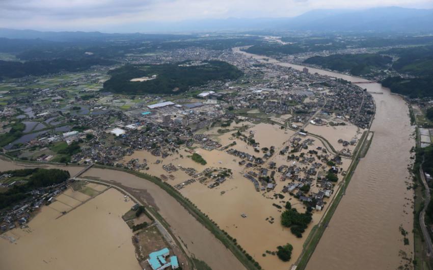 Yaponiyada daşqınlar nəticəsində azı 18 nəfər həlak olub