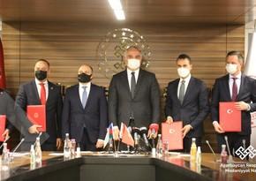Азербайджан подписал протоколы о сотрудничестве с двумя министерствами Турции