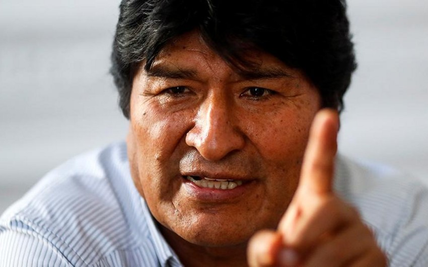 Morales 1 il sonra Boliviyaya qayıdacağına söz verib