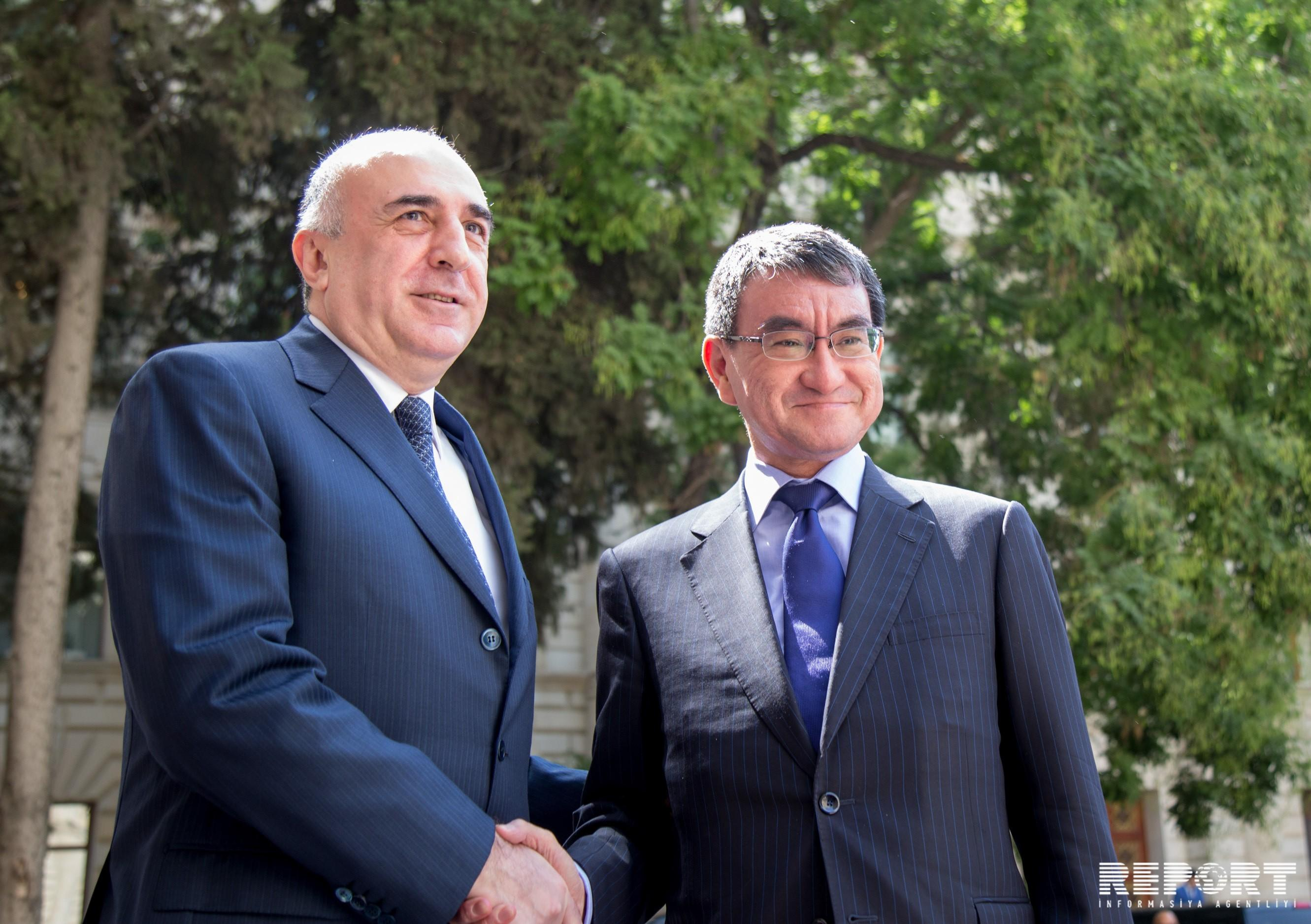 Meeting of Azerbaijani and Japanese Foreign Ministers underway in Baku - UPDATED