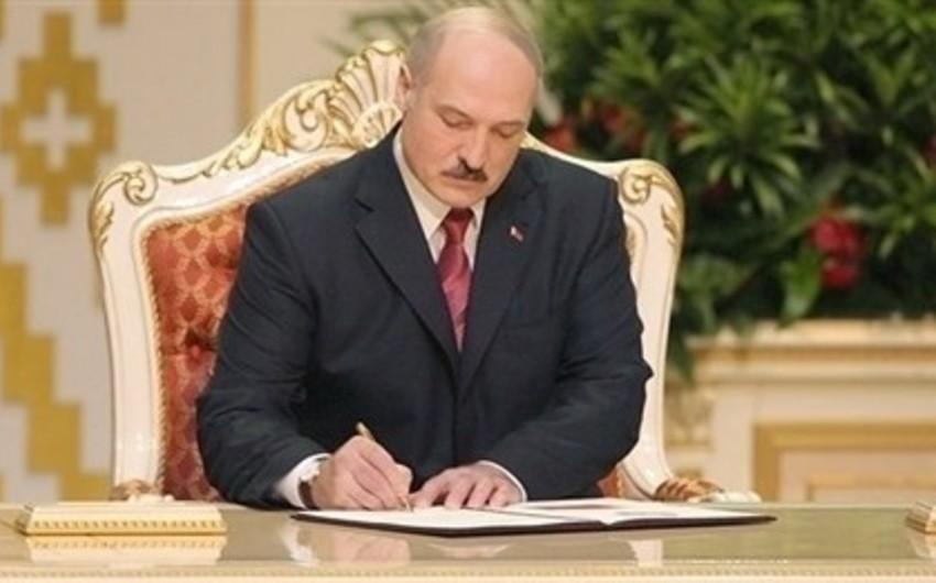 Belarus prezidenti Azərbaycan baş nazirini Xalqlar Dostluğu ordeni ilə təltif edib